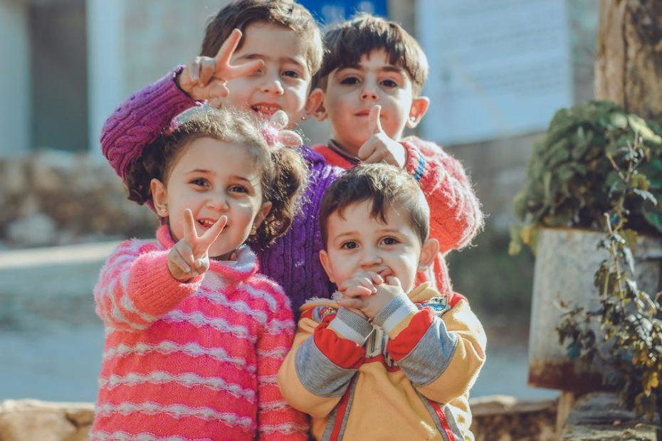 bambini che sorridono